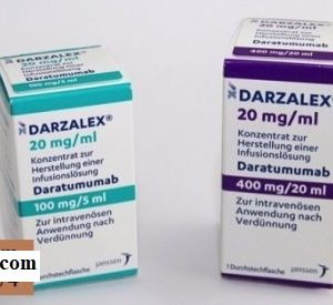 Darzalex medicine 20mg/ml Daratumumab treatment of multiple myeloma