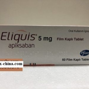 Eliquis medicine 5mg Apixaban helps prevent stroke