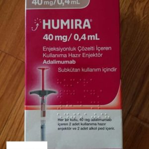 Humira medicine 40mg/0.4ml Adalimumab treat many inflammatory conditions in adults