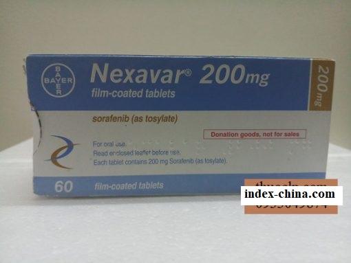Nexavar medicine 200mg Sorafenib treatment of Kidney Liver Cancer