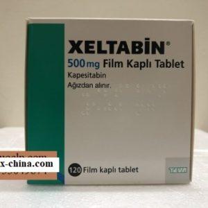 Xeltabin medicine 500 mg Kapesitabin for colorectal cancer treatment