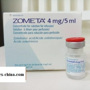 Zometa Medicine 4mg / 5ml Zoledronic Acid Bone marrow cancer - Zometa Drug Price