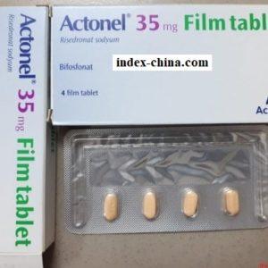 Actonel medicine 35mg Risedronate treats osteoporosis